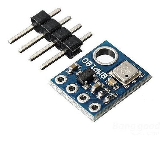 Sensor Pressão Altitude Temperatura Barômetro Bmp180 Arduino