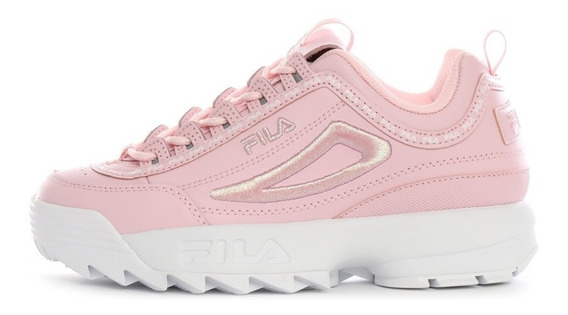 Tenis Dama Fila Disruptor Rosa Premium Genetic Fl214