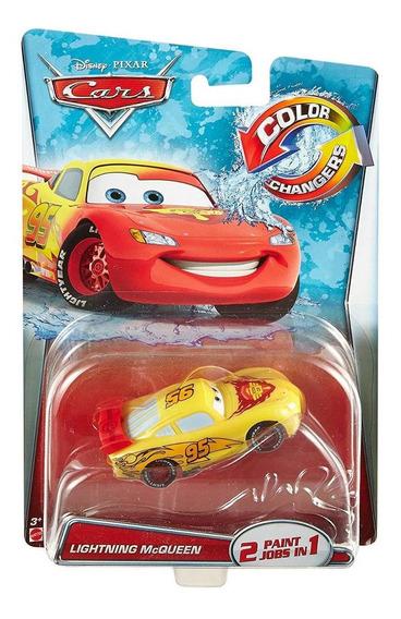 Disney Cars Lightning Mcqueen Color Changer Muda De Cor