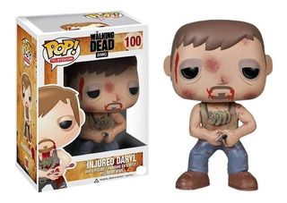 Funko Pop! Injured Daryl 100- The Walking Dead (vaulted)