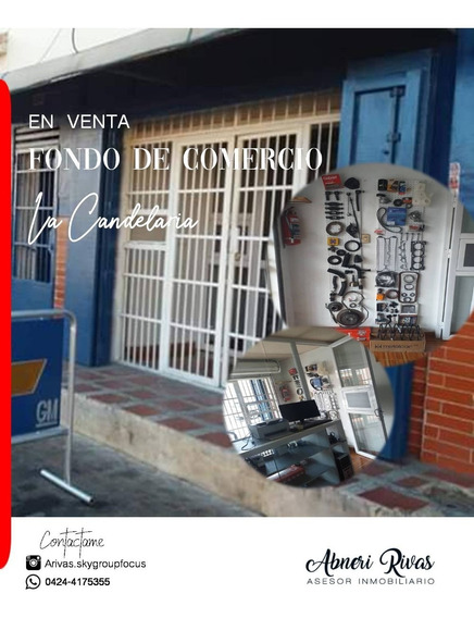 Fondo De Comercio/ Transpaso, Zona Repuestera La Candelaria