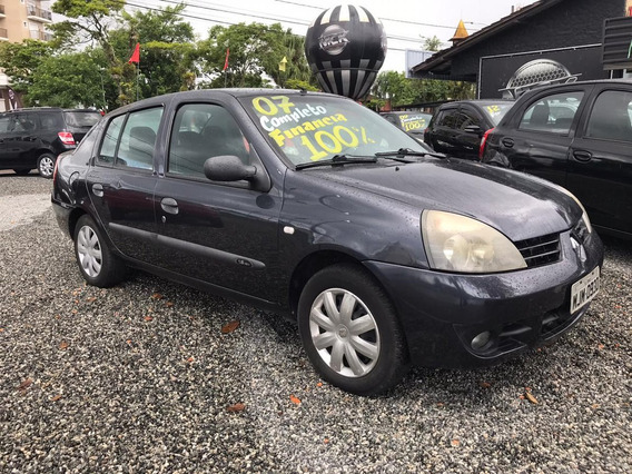 Renault Clio 1.6 Expression Sedan 16v Flex 4p Manual 200...