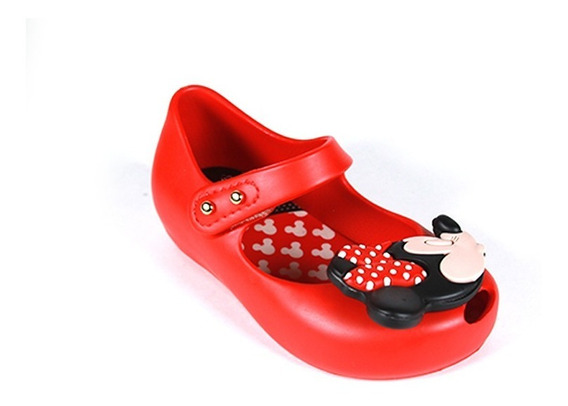 Zapato Mini Melissa Disney Red Minnie