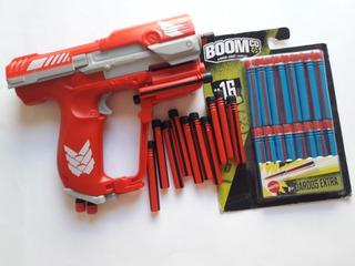 Boomco Pistola Dardos Tipo Nerf Unsc Ma5 Halo Lanzador