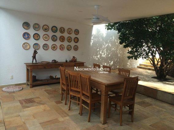 Casa Residencial À Venda, Gramado, Campinas. - Ca0171