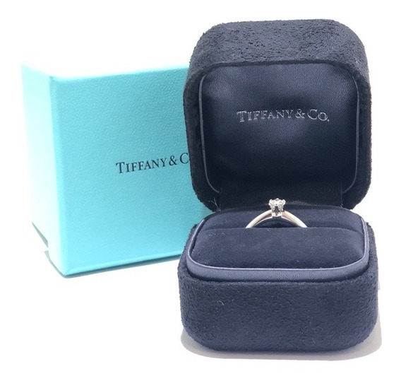 Anillo De Compromiso Tiffany & Co 16ct Round Diamond Bridal