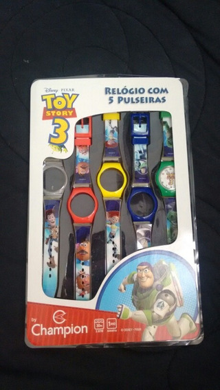 Relogio Toy Story Infantil