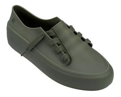 Tênis Melissa Ulitsa Sneaker Verde Bege 32338
