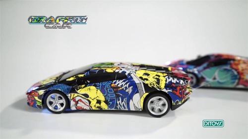 Auto Control Remoto Autito Car Graffiti Ditoys Radio +promo