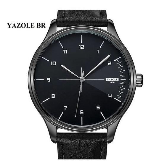Relógio Masculino Yazole Original Pulseira Luxo