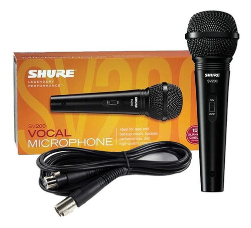 Microfonos Shure Sv200 Professional Original