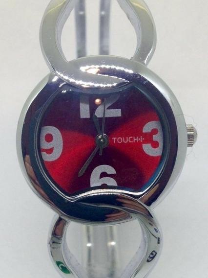 Relógio De Pulso Feminino Touch Red T07338 Webclock