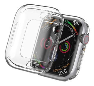 Protector Bumper Silicona 360 P/ Apple Watch 38 40 44 Mm