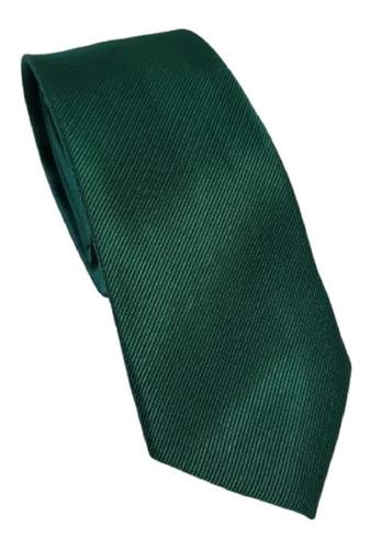 Imagem 1 de 1 de Kit 16 Gravata Verde Esmeralda Trabalhada