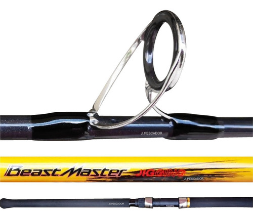Caña Spinning Shimano Beast Master 2pzs Peces Grandes 1.89mt