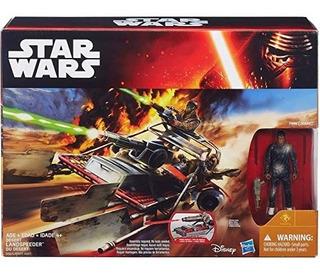 Star Wars Desert Landspeeder Vehiculo Finn Oferta Stock