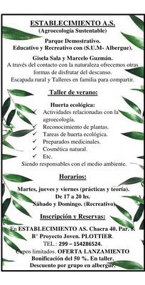 Taller De Huerta Organica.