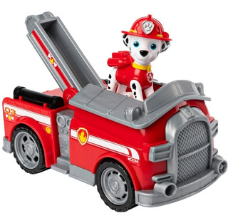 Paw Patrol Con Vehiculo Rubble Skye Marshall Chase O Rocky