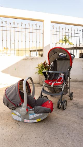 Coche Graco + Huevito Para El Auto