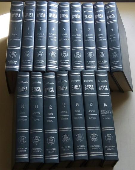 Livro Coleção Enciclopédia Barsa 16 Volumes