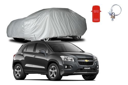 Imagem 1 de 5 de Capa Para Carro Tracker Forrada Cadeado 100%  Impermeável