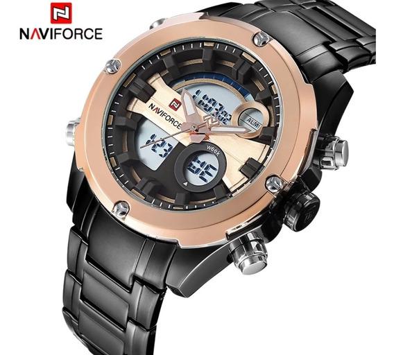 Relógio Masculino Naviforce Original Com Nota Fiscal