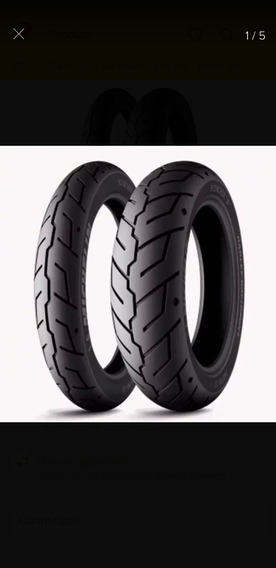 Par Pneu Michelin Scorcher 31 Hd Harley 100/90-19 +150/80-16