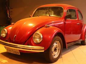 Volkswagen Fusca 1975 Vermelho Gasolina 1.3 Jair Rodrigues