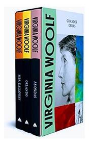 Box Livro Virginia Woolf 3 Volumes - Capa Dura