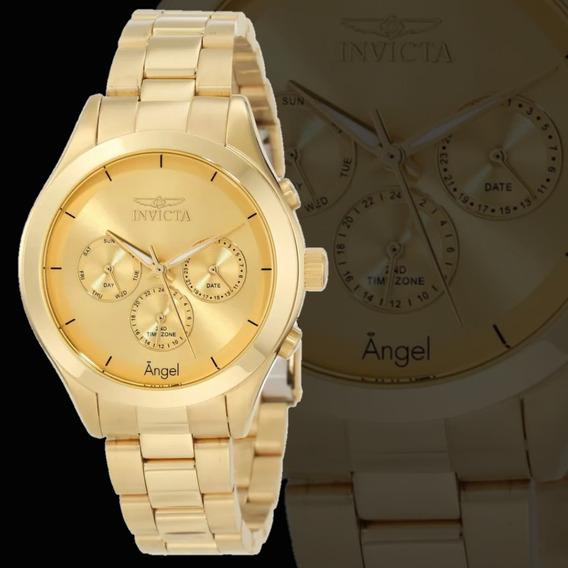 Relógio Invicta Feminino 21694 Angel - Aqui É 100% Original