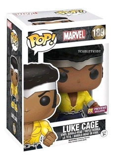 Funko Pop Luke Cage 189 Marvel Exclusivo Orig Scarlet Kids