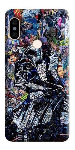 Estuche Forro Carcasa Darth Vader Xiaomi, Motorola, Asus