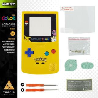 [ Carcasa Gameboy Color ] Pokémon Desarmadores Gbc | Tracia