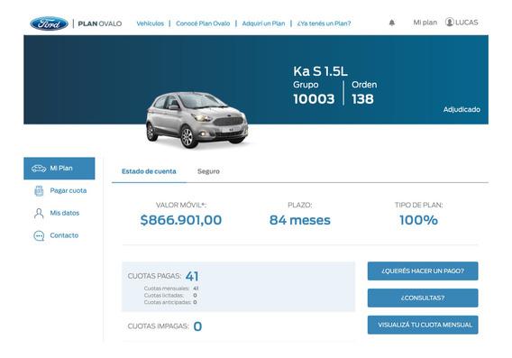 Ford K Adjudicado Para Retirar