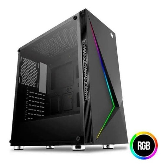 Pc Gamer Intel I5 9ª Geração, 8gb Ddr4, Rx 570 4gb, Ssd