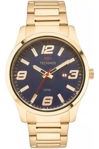Relógio Technos Masculino 2115mpi/4a Racer Dourado