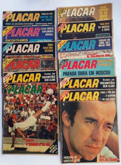 Placar 1973 Abril Com 4 Revista Raras Antigas Frete Grátis