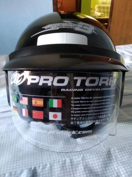 Capacete Para Moto Aberto Pro Tork Liberty Three (leia Desc)