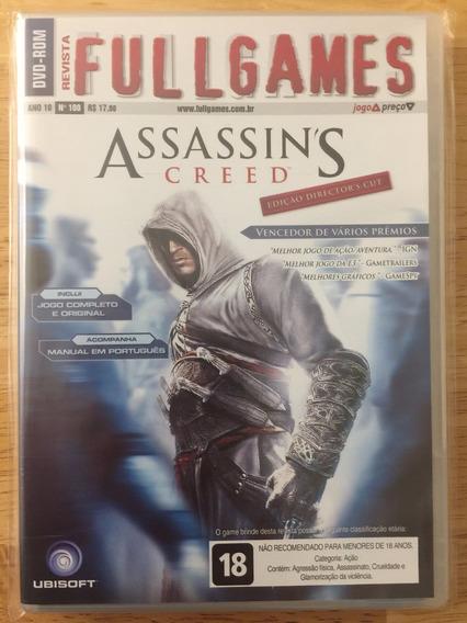 Jogo Pc Dvd Revista Fullgames - Assassin