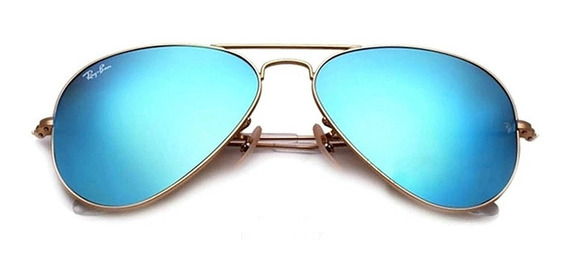 Lentes Ray Ban Aviador 100% Original Flash Rb3025 112/17 58