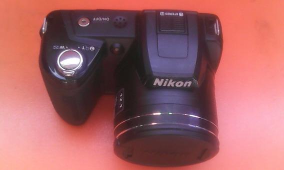 Cámara Foto Gráfica Nikon Coolpix L110 12.1 Megapixels