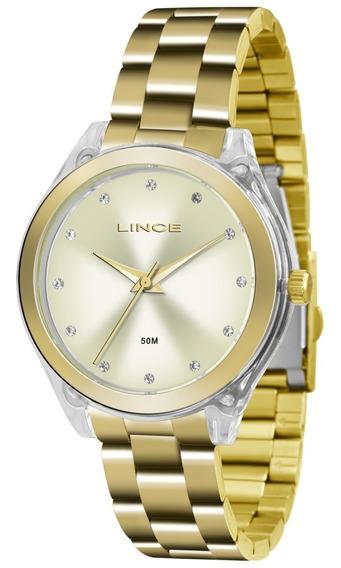 Relógio Lince Analógico Feminino Lrg4431p C1kx