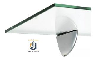 Set 2 Repisas Rectangulares Cristal Solite - Premium + Envío