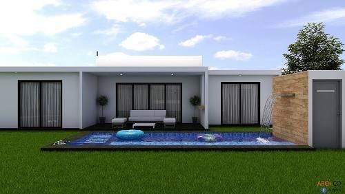 Casa De Una Planta Cerca De Lomas De Cocoyoc