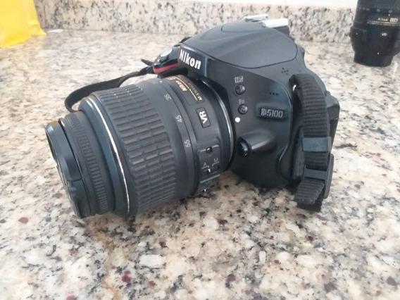 Câmera Nikon D5100+lente 50+lente 55-300+lente 18-55+case