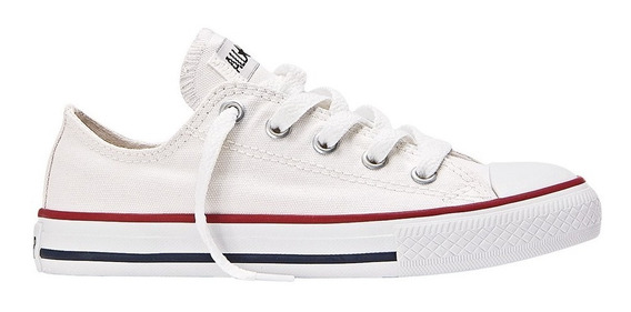 Zapatillas Bebe Converse Lona All Star Ox Baby