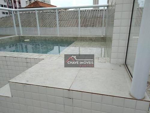 Village À Venda, 191 M² Por R$ 950.000,00 - Campo Grande - Santos/sp - Vl0024