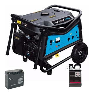 Grupo Electrogeno Gamma 7500 Vtipe 7,5 Kva Motor 15 Hp Moron