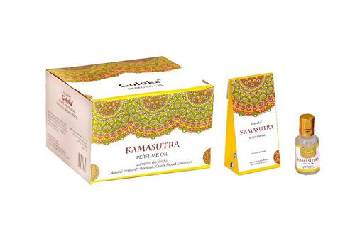 Imagem 1 de 1 de Óleo Perfumado Indiano Goloka Kamasutra 2un.10ml - Libido