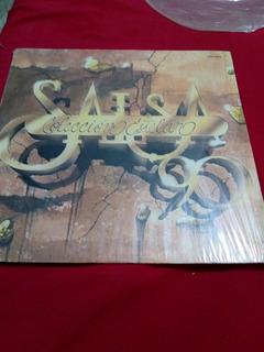 Salsa Coleccion Estelar De Los 90 Noventas Disco Acetato Lp
